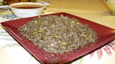 Haitian Recipes :: Du Riz A Djon Djon (Black mushroom rice. The best rice ever. Very special rice used for events or special days or just a nice dinner) Haitian Food Recipes, Best Mexican Recipes, Mexican Food Recipes, Soup Joumou, Hatian Food, New Orleans Recipes, Savory Rice, Mushroom Rice, Stuffed Mushrooms