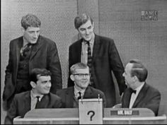 What's My Line? Buddy Hackett, Robert Goulet, Peter Cook, Dudley Moore, etc