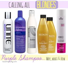 Calling All Blondes! Purple Shampoo... Why, What and How - Twist Me PrettyTwist Me Pretty