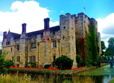 Visit the charming Hever Castle this Autumn. You won't regret it! #HeverCastle http://katsadventures.com/events/event/castle-gardens-and-lake-walk-autumn-hever-day-trip/