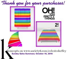Sunday Sales Summary Stripes Smiles - Thank you for your 3 purchases!