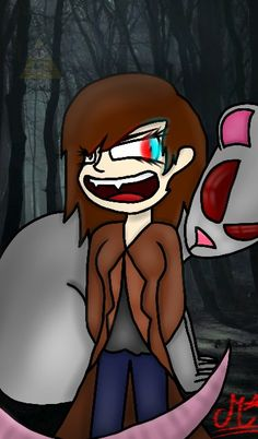 Me and my pet rat in Gravity falls style :3