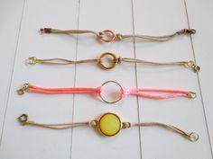 Eenvoudig zelf te maken veter-armbandjes