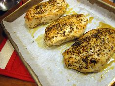 How to Make Perfectly Moist Roasted Chicken Breasts