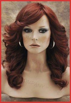 Jahre Mode farrah-fawcett-Glamorous-New-Big-open-Wavy-Copper-Red-Wig-Medi. 70s Disco Makeup, Disco 70s, 70s Makeup, 70s Disco Fashion, Trendy Fashion, 70s Haircuts, 1970s Hairstyles, Vintage Hairstyles, Farrah Fawcett