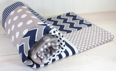 Baby Boy Blanket Nursery Decor Photography Prop by theredpistachio, $56.50