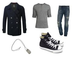 James' outfit by ramadiii on Polyvore featuring polyvore fashion style H&M Converse Tiffany & Co. True Religion clothing