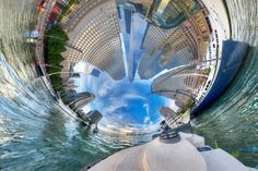 Photographer Randy Scott Slavin debuts a new collection of surreal panoramic photos. Amazing Photography, Photography Tips, Urban Photography, Creative Photography, Nature Photography, Perspective Photos, Perspective Photography, Creative Landscape, Photo Series