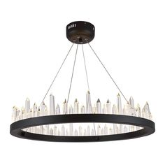 """Malta 26"""" Crystal Chandelier with 32 Lights"""