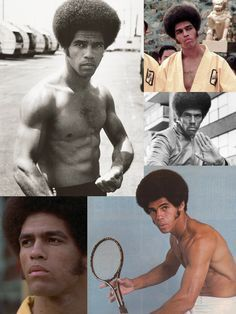 Jim Kelly (May 1946 - June was an American martial artist and actor, best known for his starring role in Enter the Dragon opposite Bruce Lee. Sporting an afro and sideburns, Kelly made a splash with his one-liners and fight scenes in t Bruce Lee, Martial Arts Movies, Martial Artists, Jim Kelly, Enter The Dragon, Black Actors, Black History Facts, African American History, Chuck Norris