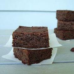 Gluten Free (& High Protein) Brownies.