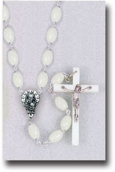 Luminous Plastic Rosary by Hirten | Catholic Shopping .com