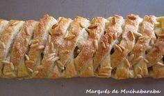 Trenza de manzana y membrillo/ apple and quince pastry braid