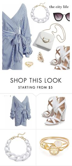 """""""Outfit of the Day"""" by dressedbyrose ❤ liked on Polyvore featuring Miss KG, Kenneth Jay Lane, ootd and polyvoreeditorial"""