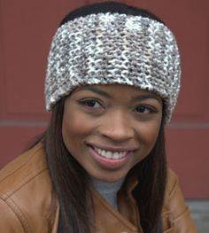Woolcotte Headband FREE knitting pattern - Easy 1 ball knitting project!