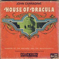 Castle films home movie entertainment. Cool Monsters, Classic Monsters, David Peel, Hollywood Monsters, Sci Fi Films, Horror Films, John Carradine, Movie Reels, 8mm Film