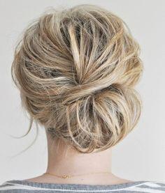 Ideias de penteados.