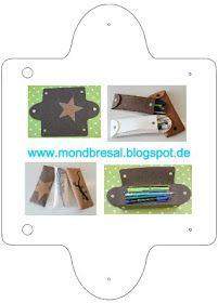 Depory Colorblock Printed Snap Pocket Wickeltasche Blue Flower Wiederverwendbare Rei/ßverschlusstasche