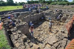 The Auckland Castle Trust bought the Roman Town in Binchester, (pictured). The site hit he...