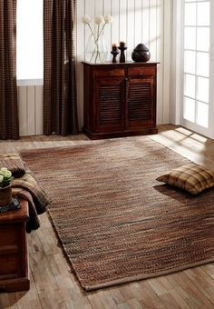 Rustic shades of light chocolate brown, muted rust, and light khaki…what's not to love? Fall in love with our Prescott rugs right here...