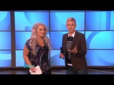 Amazing Audience Talents! - Ellen -- I can't decide if the fast reader or the guy who flips is my favorite