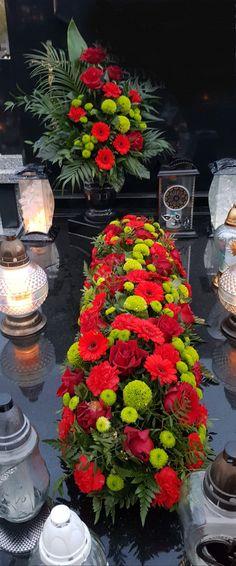 Grave Decorations, Table Decorations, Cemetery Flowers, Funeral Flowers, Arte Floral, Flower Boxes, Floral Arrangements, Centerpieces, Home Decor