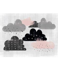 Finland Clouds Print / Babasouk