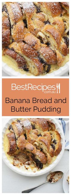 ... to try this Easy Banana and Chocolate Bread and Butter Pudding recipe