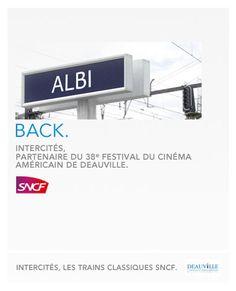 La SNCF joue sur les mots à l'occasion du Festival du Cinéma américain de Deauville. Des idées originales de nouveaux titres plus... régionaux !
