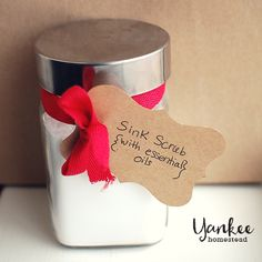 Sink Scrub with Essential Oils | Yankee Homestead