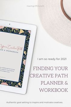 Finding Your Creative Path Planner Workbook Pdf Download Lisa M Griffin Illustrator Finding Yourself Workbook Creative Planner
