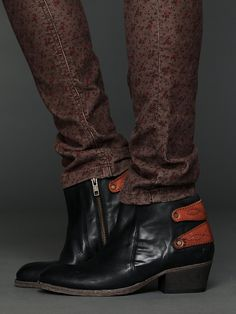 Hudson Connelly Ankle Boot at Free People Clothing Boutique @Angie Thompson  - these made me think of you