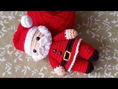 crochet crochet paso a paso Free idea Crochet Amigurumi Free Patterns, Crochet Toys, Crochet Baby, Knit Crochet, Knitting Patterns, Noel Christmas, Christmas Projects, Crochet Santa, Plush Pattern