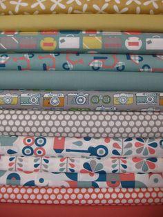 Fabricworm Custom Bundle, Pack Your Bags 12 Total