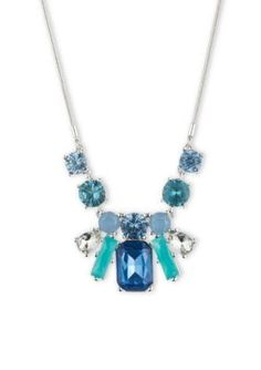 Nine West  Stone Frontal Necklace
