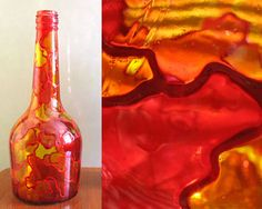 more ideas to decor glass bottles - crafts ideas - crafts for kids