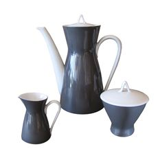 "1stdibs.com | Loewy After Dinner Coffee Set for ""Rosenthal 2000"""