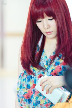 tiffany - love her hair and bangs