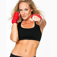 Try this Pilates and kickboxing-inspired circuit for strong, defined abs.