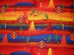 Mexican Fabric Decorative Fabric Southwestern by DecorativeFabrics, $11.38