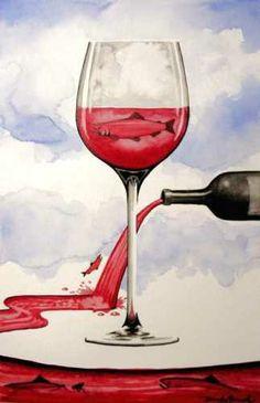 Artistic Wine, Original Artwork & Prints by Derek Gundy, Online Gallery #taninotanino #vinosmaximum