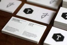 Brand New Business Card by Estudio Tricota, via Behance