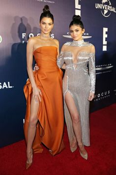 THE 2017 GLOBES AFTER-PARTIES Kendall Jenner and Kylie Jenner
