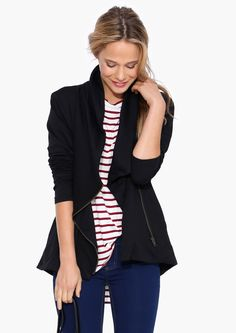 Beloved Fall Jacket in Black | Necessary Clothing