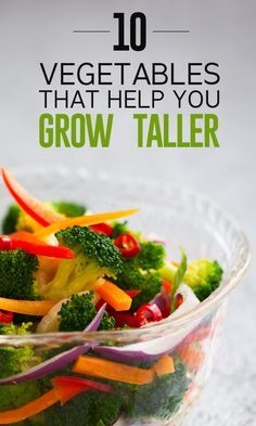 There are some vegetables that help you grow in height. Want to know what vegetables can help you grow taller? Then here is a list you can ...