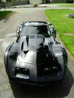 Corvette Tumblr  -- Black Beauty!