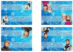 free printable frozen decorations   Free Printable Frozen Labels. - Oh my fiesta eng