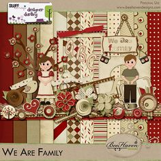 We Are Family Kit by Bee Haven Designz