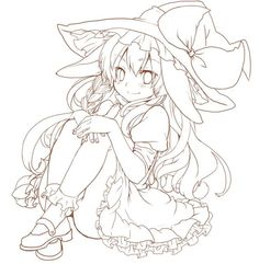 Anime Girl Drawings, Manga Drawing, Art Drawings Sketches, Anime Lineart, Cute Coloring Pages, Colouring, Art Inspiration Drawing, Drawing Reference Poses, Drawing Base