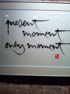 Thich Nhat Hanh's Live, Meditative Calligraphy Will Absolutely Inspire You